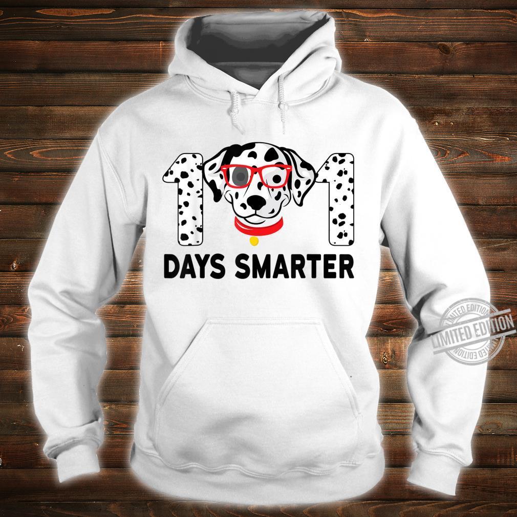 101 Days Smarter Dalmation Dog Teachers Costume Shirt hoodie