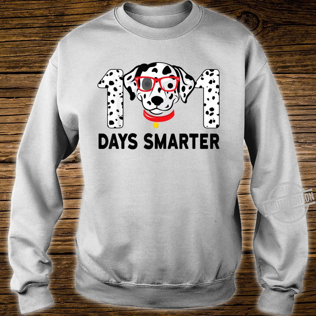 101 Days Smarter Dalmation Dog Teachers Costume Shirt sweater