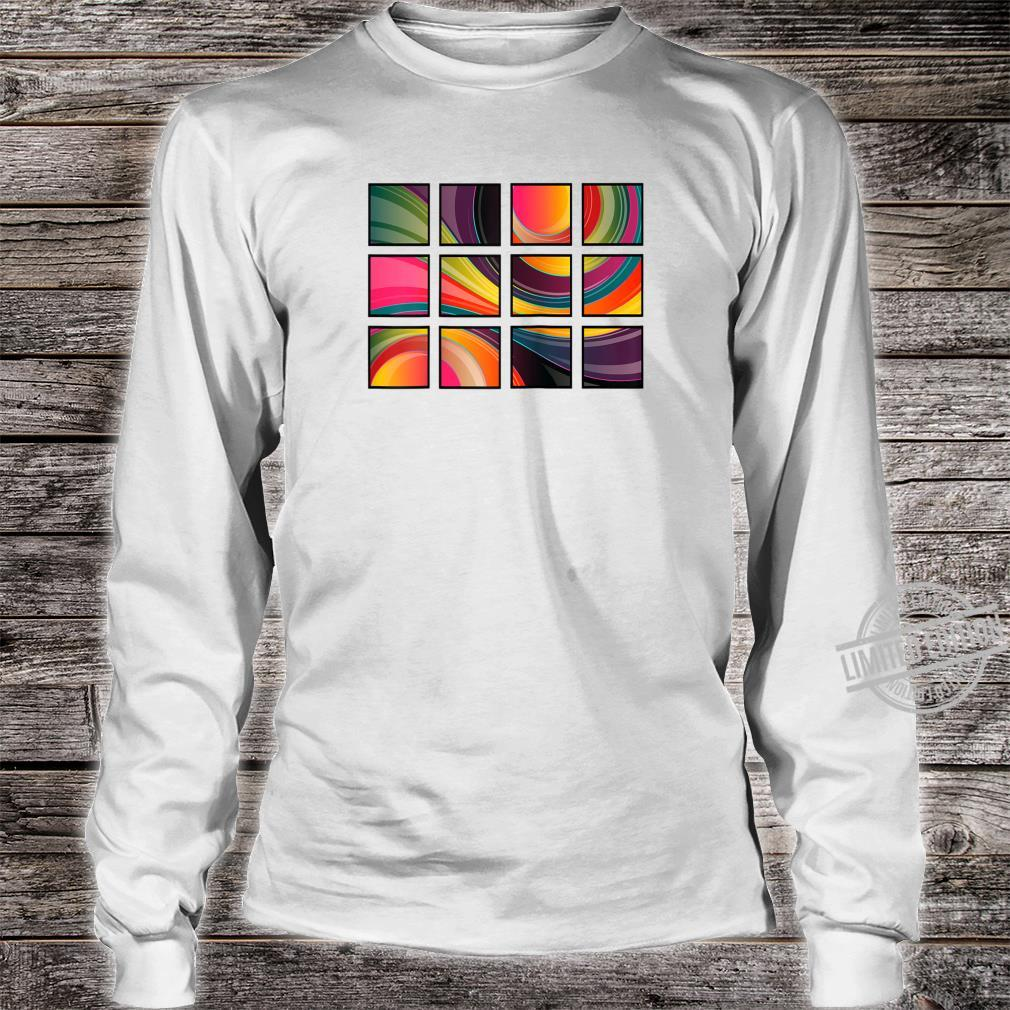Abstract Shirt long sleeved