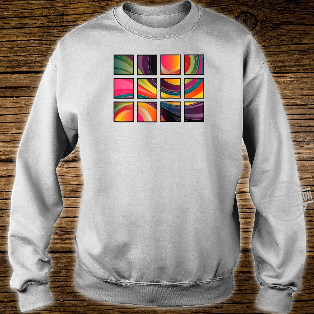 Abstract Shirt sweater
