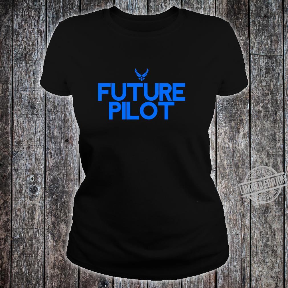 Air Force Future Pilot Students Shirt ladies tee