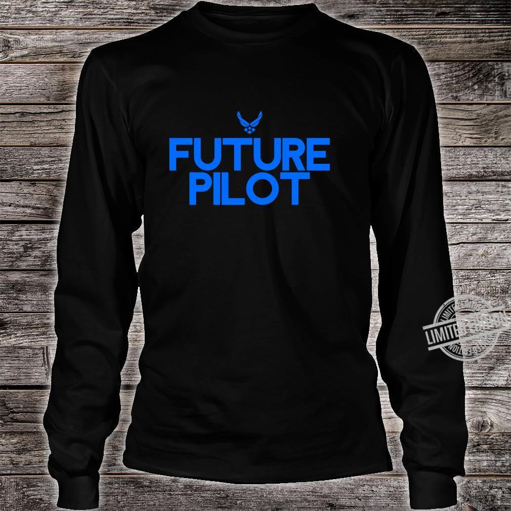 Air Force Future Pilot Students Shirt long sleeved