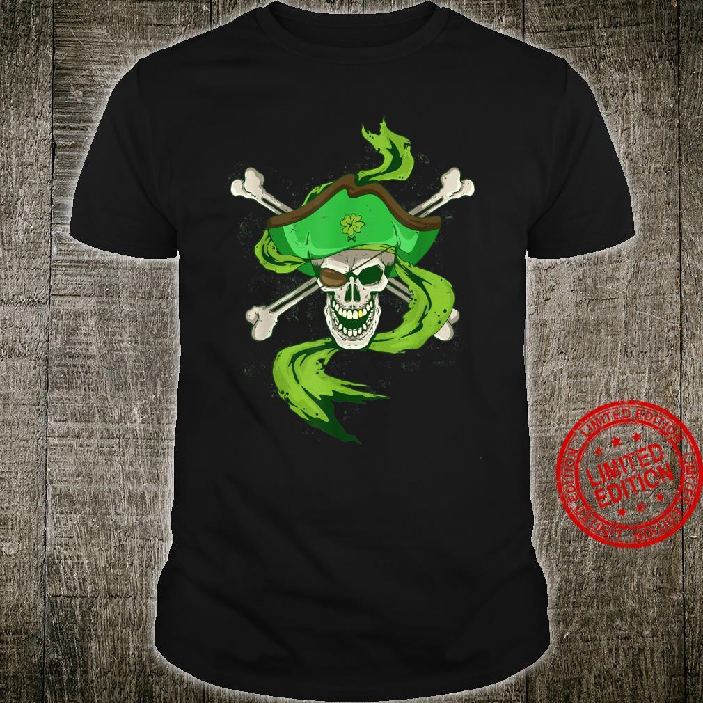 Arrrish Irish St Patricks Day Shirt Pirate Boys Shirt