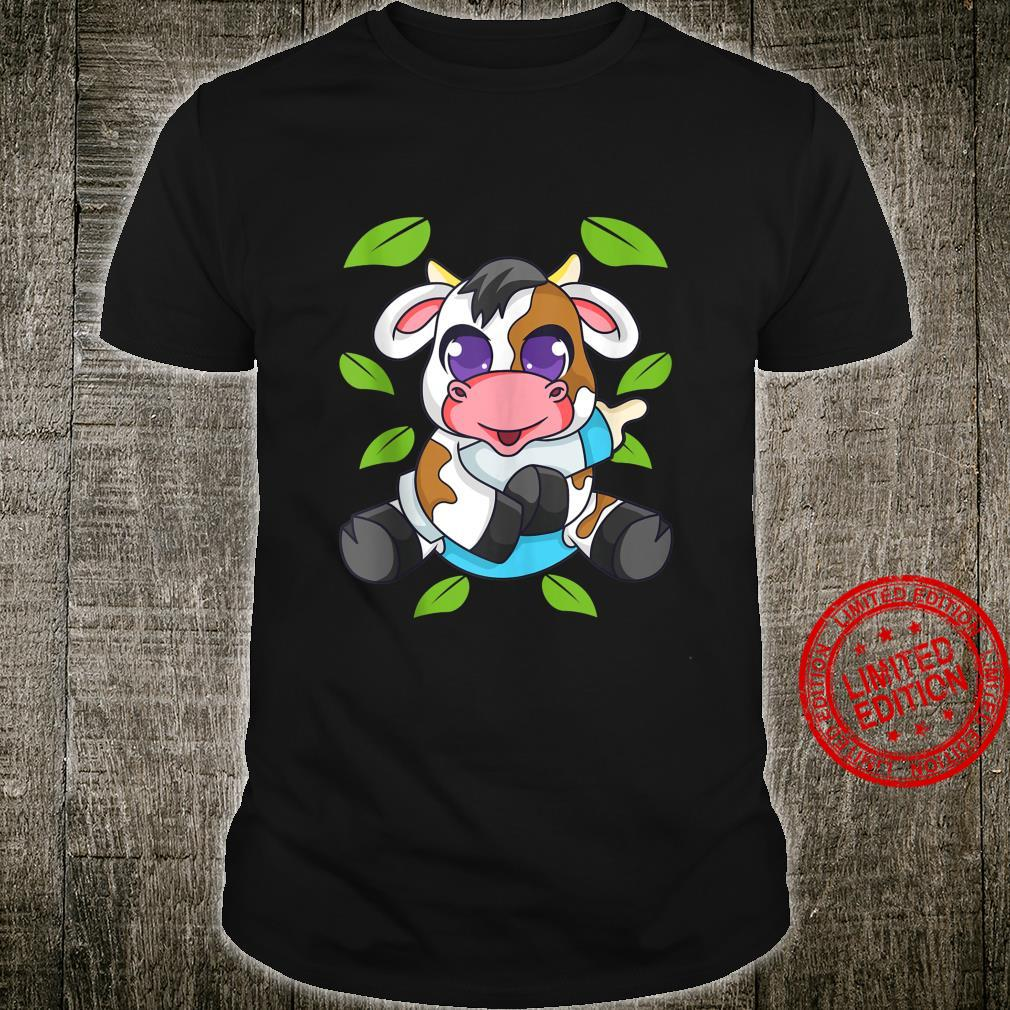 Baby Cow Calf Farm Animals Cute Shirt