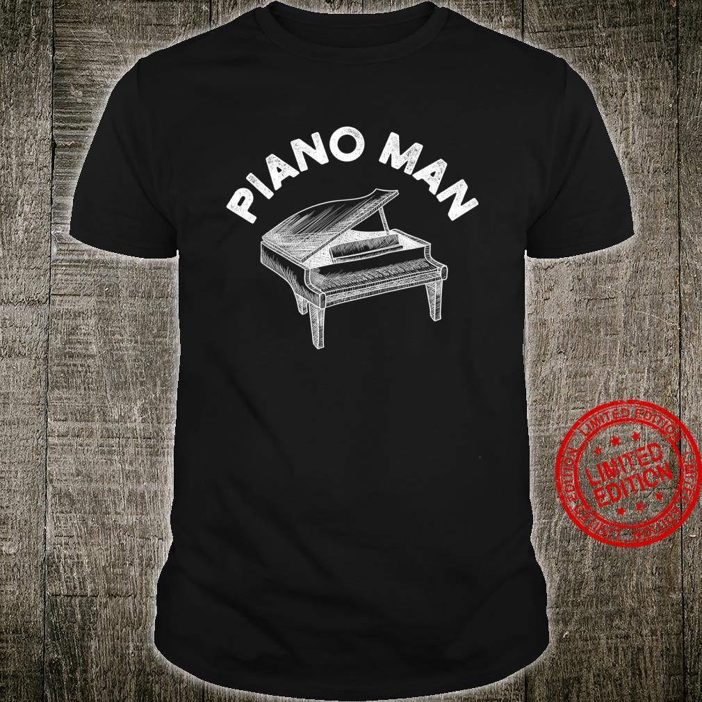 Baby Grand Piano Man Teacher Student Pianist Shirt
