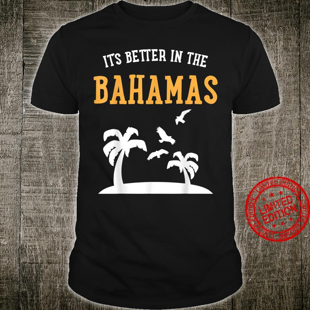 Bahamas Island Travel Vacation Holiday Beach Shirt