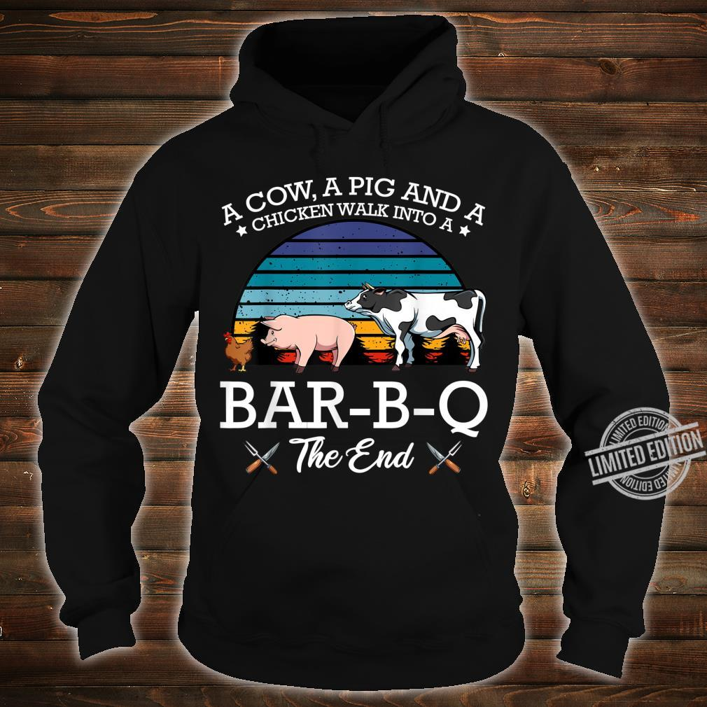 BarBQ Barbecue Party Fleischfresser Huhn Rind Schwein Shirt hoodie