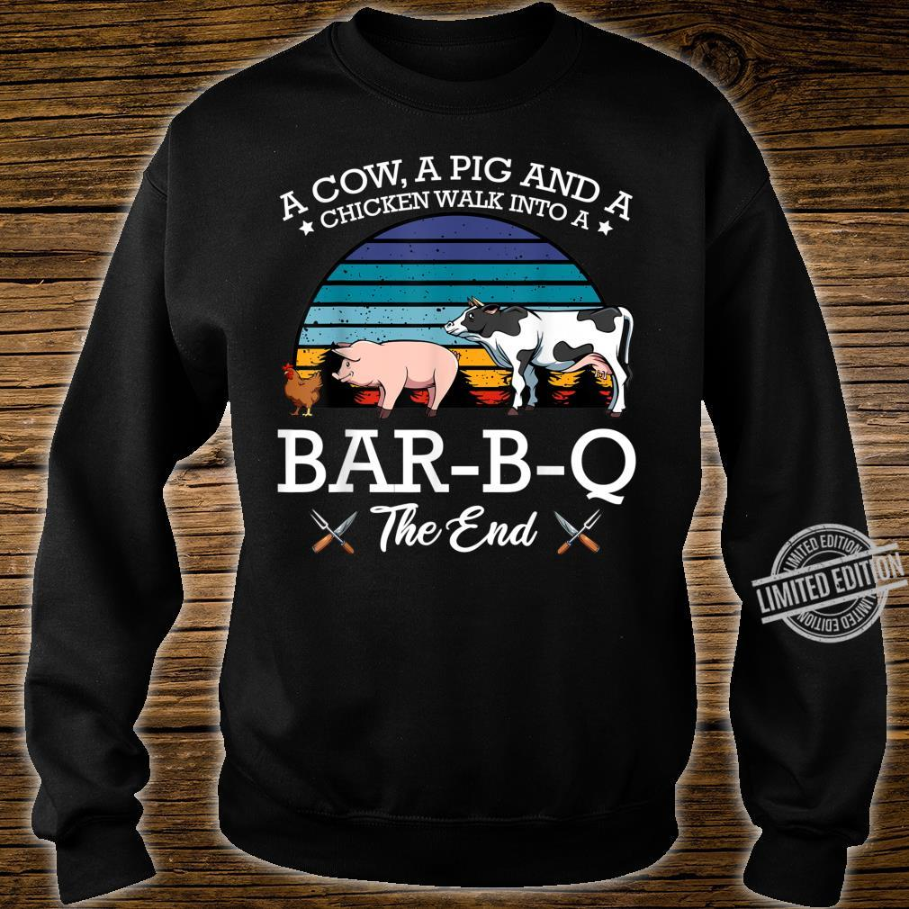 BarBQ Barbecue Party Fleischfresser Huhn Rind Schwein Shirt sweater