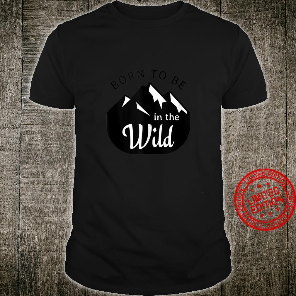 Camp Slogan Design Love Camping Mountains Shirt