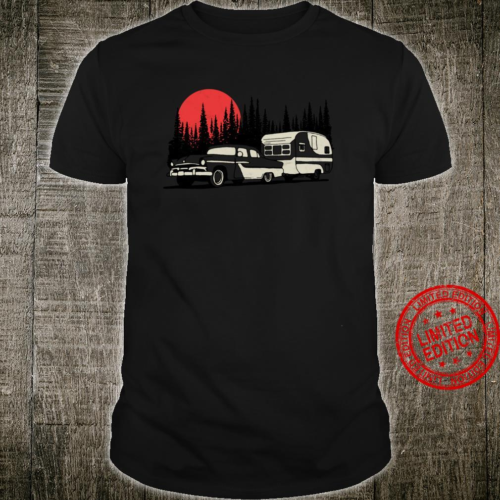 Camper & Old Car Retro Camping Great Outdoors Shirt