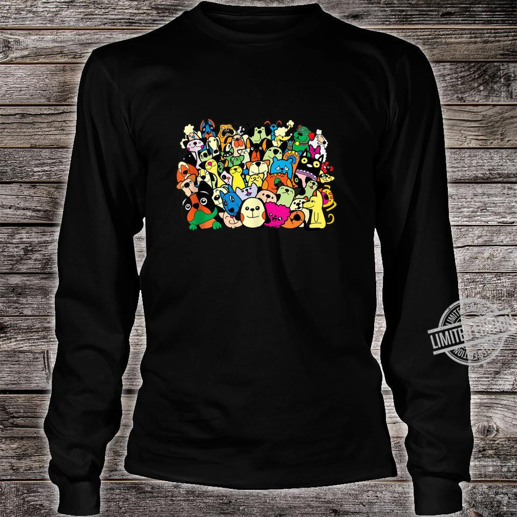 Cats Dogs Pet Animals Cat Mom Kitty Puppy Dog Fan Shirt long sleeved