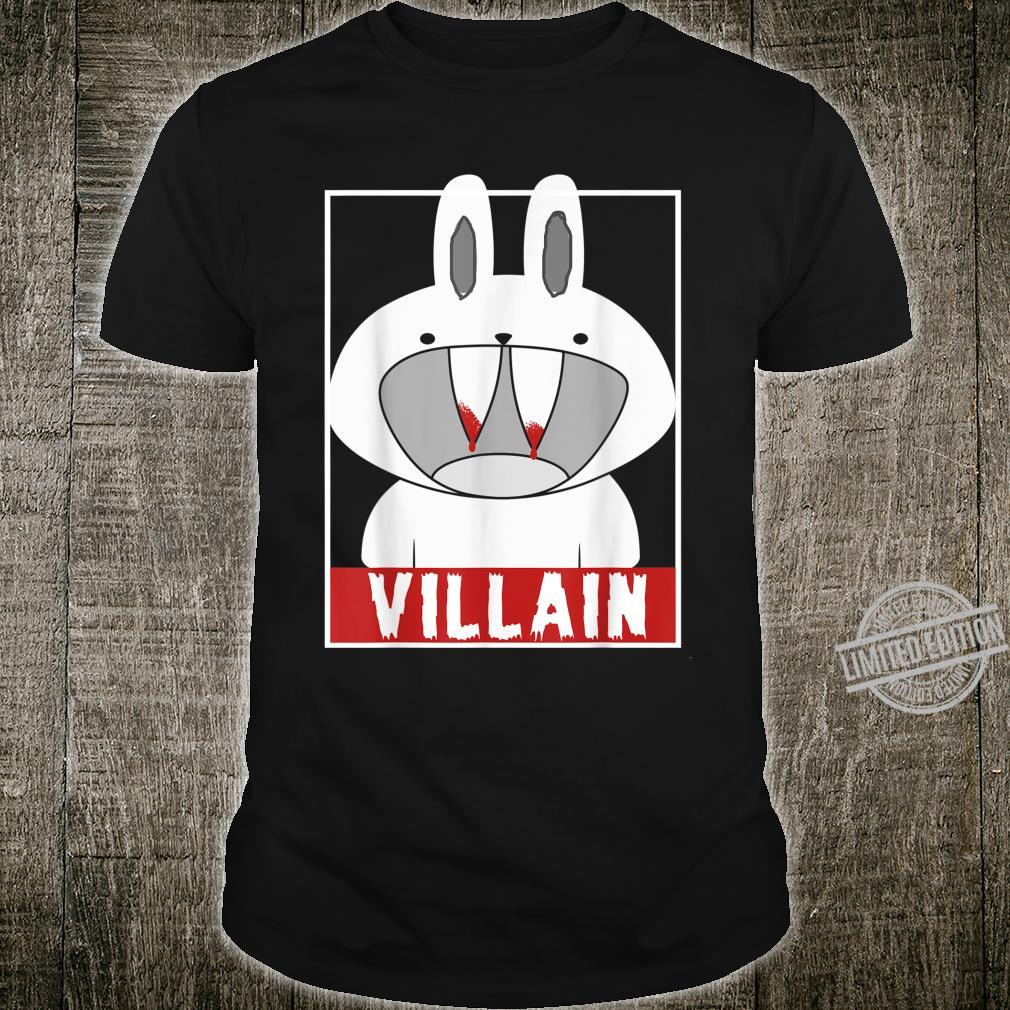Chillin' Like A Villain Bunny Rabbit Novelty Easter Shirt
