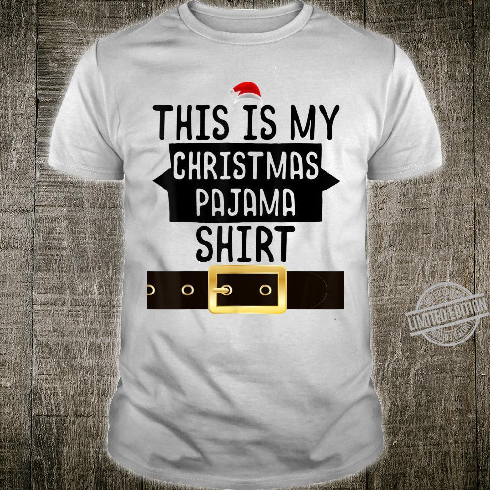 Christmas Pajama For Sleeps Shirt