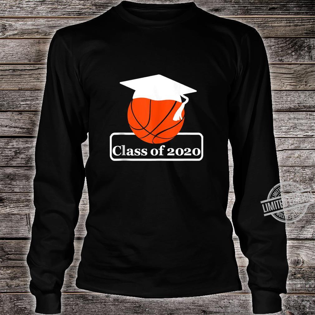 Class Of 2020 Basketball Senior Night Memorable Ideas Shirt