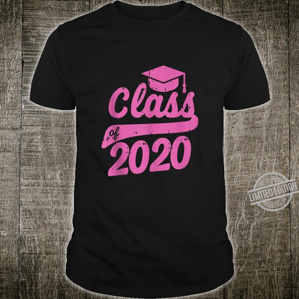 Class Of 2020 Graduation Cap Graduating Girls Boys Shirt