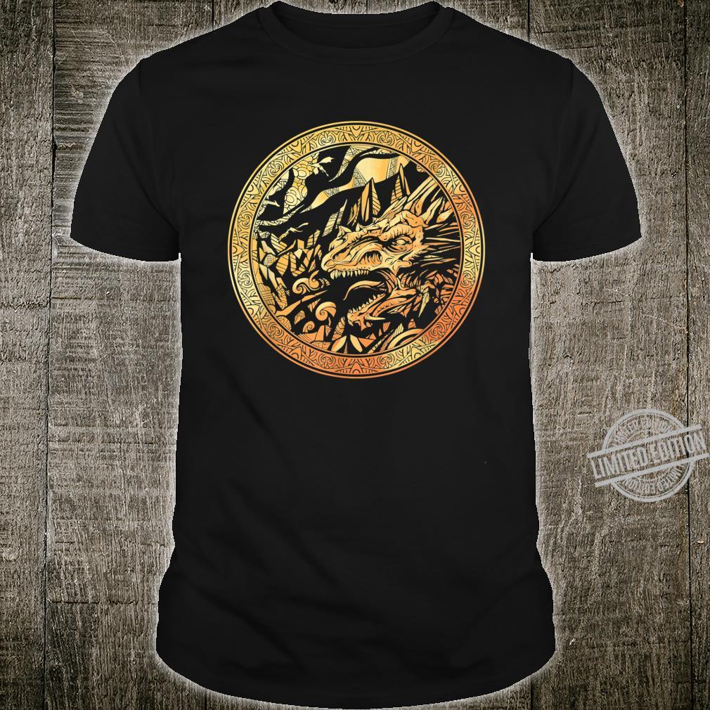 Coin Golden Dragon Legends Animal Dragon Shirt