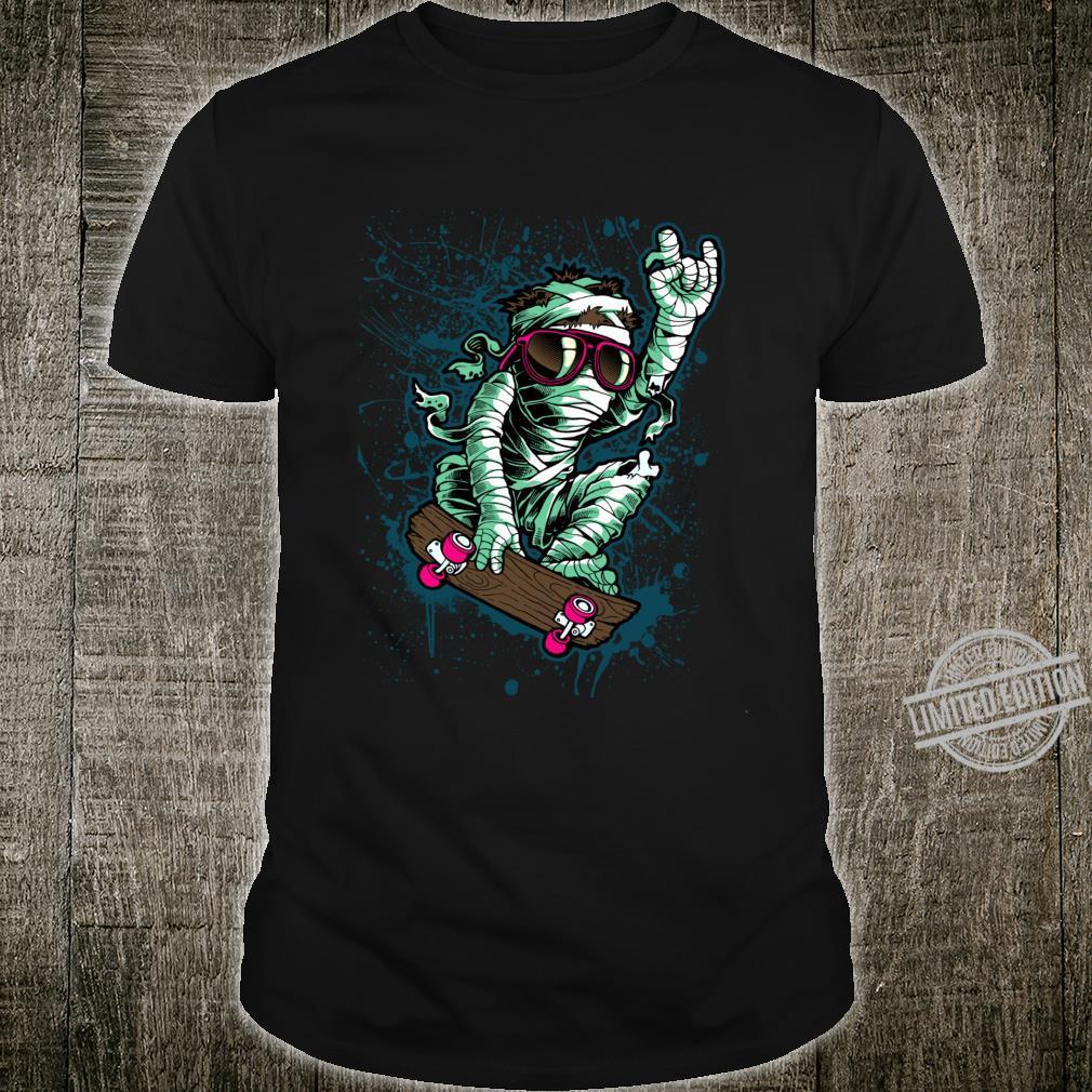 Cool Mummy Skateboard, I Love Skateboarding, Skateboard Shirt