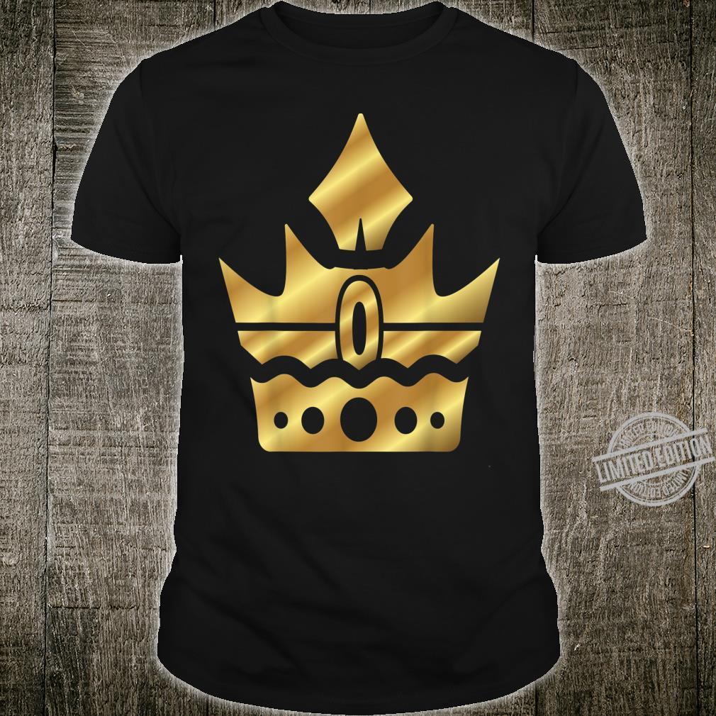 Crown Crowns King Queen JGA Wedding Bride Groom Shirt