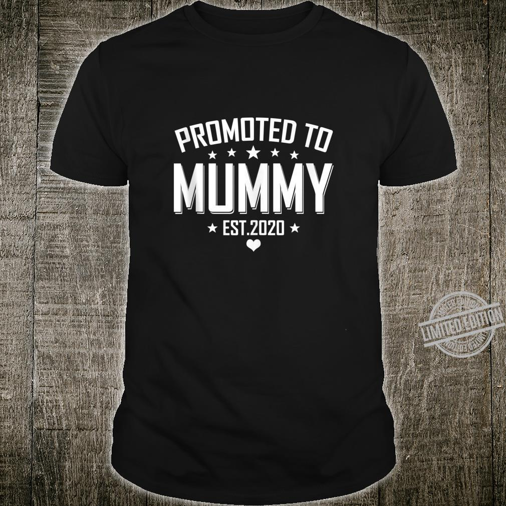 Customer Promoted to Mummy 2020 New Mummy to be Baby Shirt