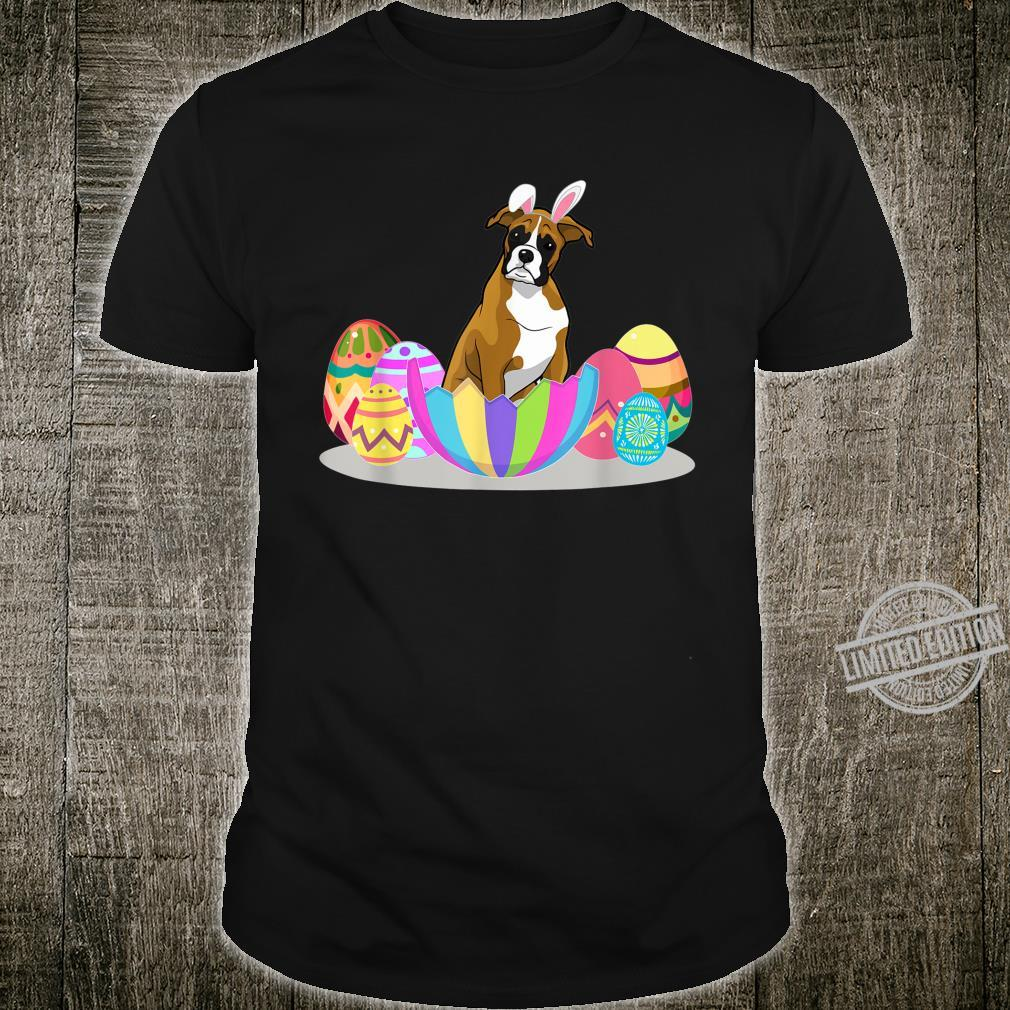 Cute Easter Idea For Boxers With Easter Eggs Shirt