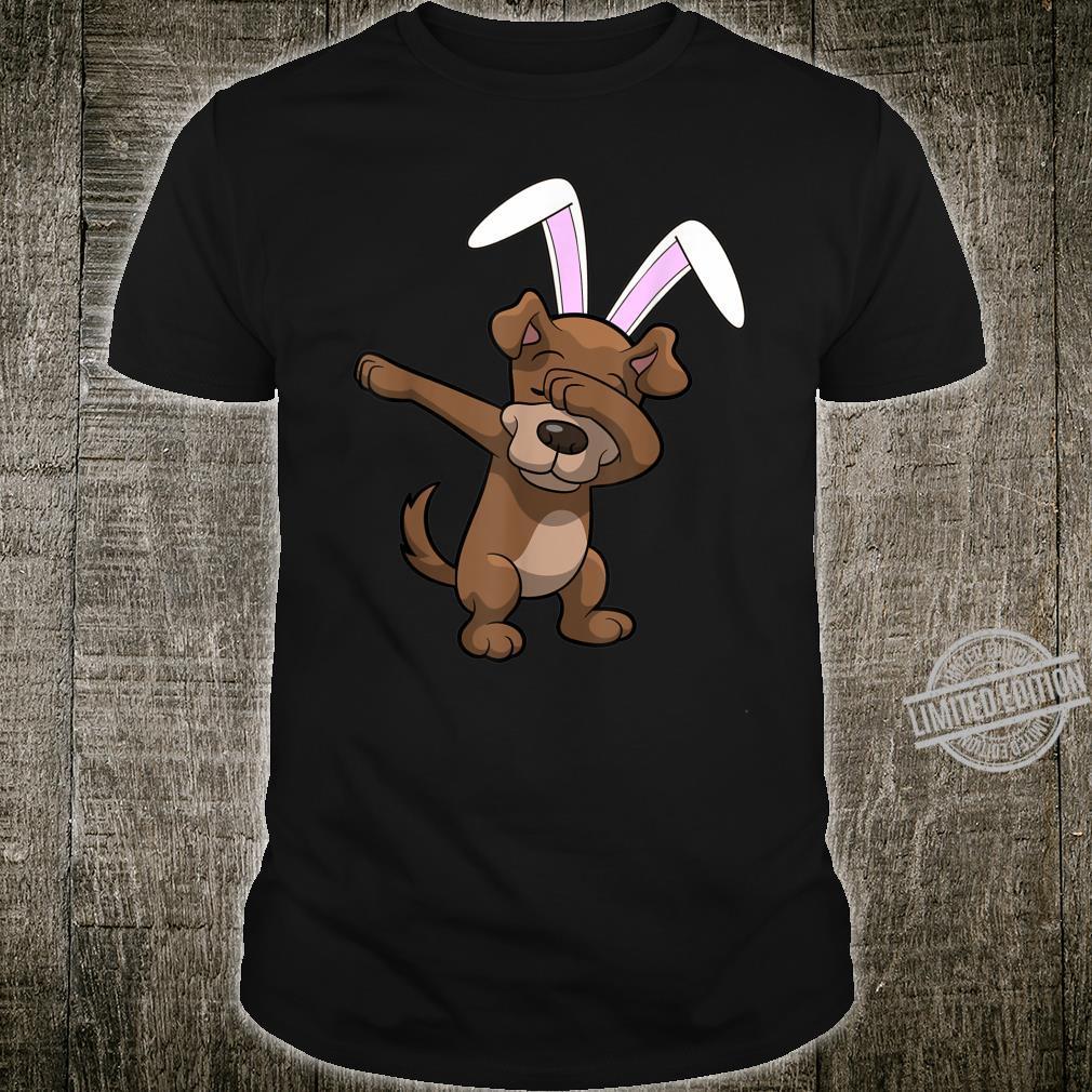 Dabbing Easter Bunny Ears Dog Dab Boys Girls Shirt