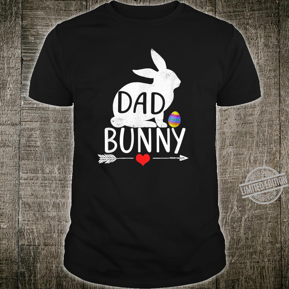 Dad Bunny Cute Matching Family Shirt