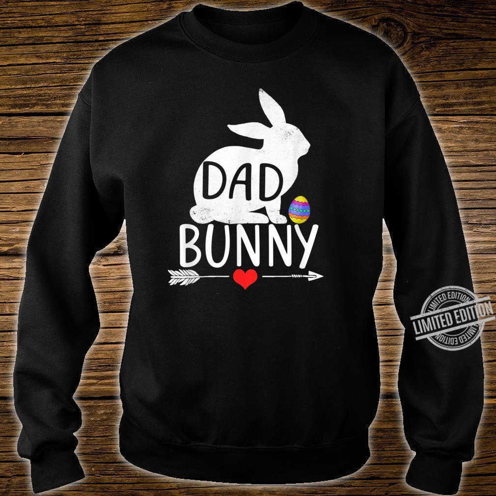 Dad Bunny Cute Matching Family Shirt sweater