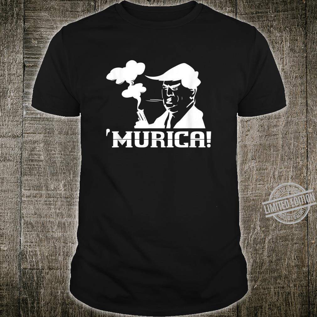 Donald Trump Murica Patriotic American USA Shirt
