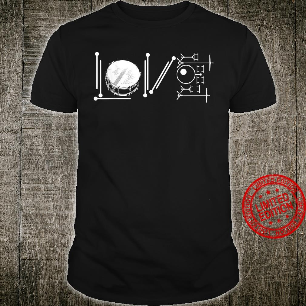 Drum Player I Love Play Drum Musical Instruments Shirt