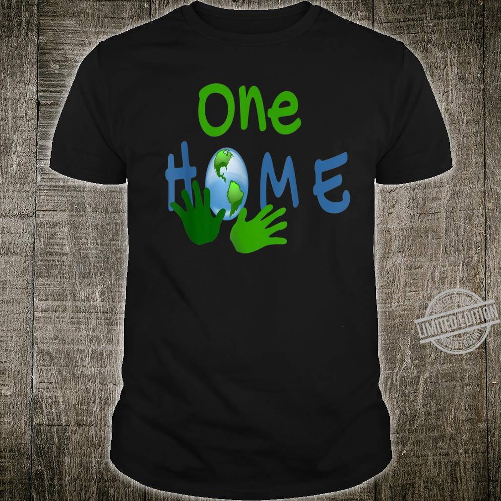Earth Day One Home Shirt