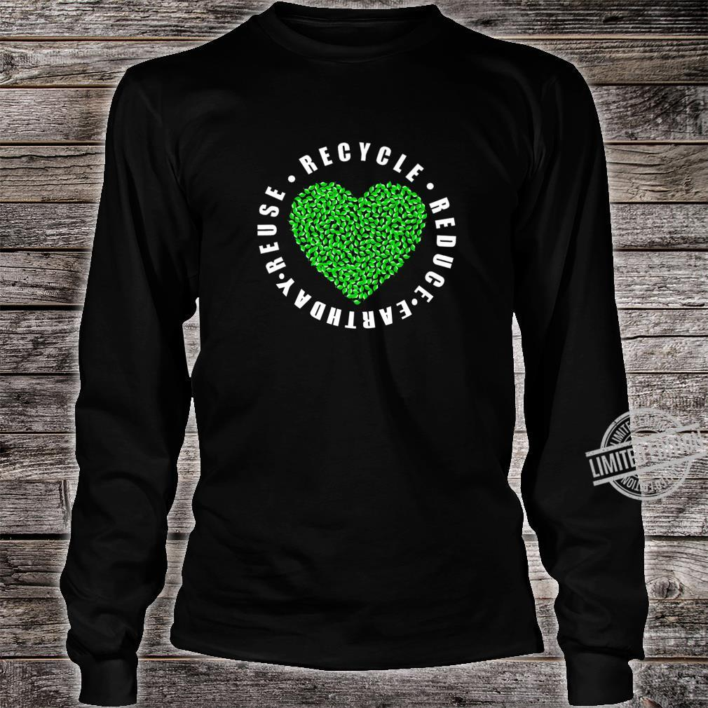 Earth day Reduce Reuse Recycle Earth day 2020 Shirt long sleeved