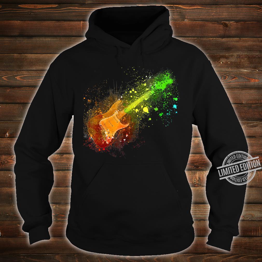 Electric Guitar Retro Rock Music Musician Player Shirt hoodie