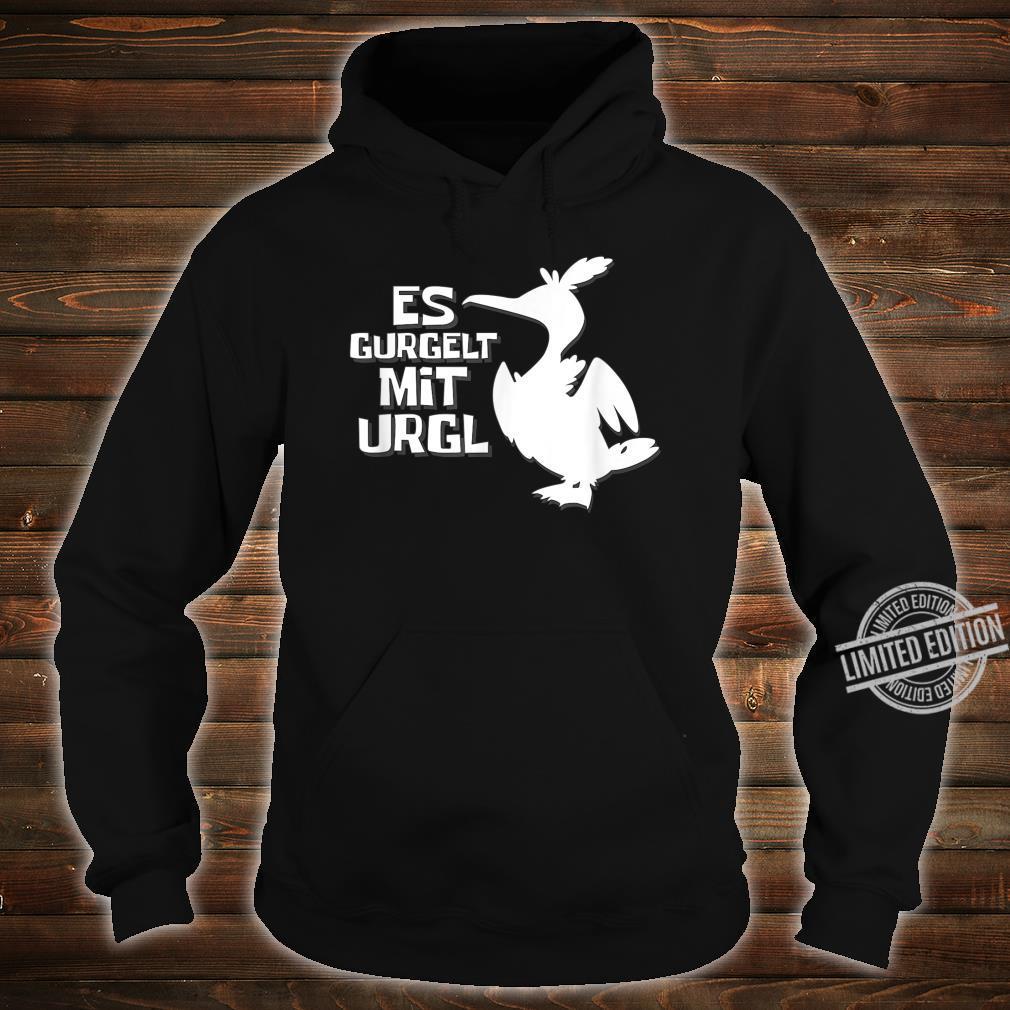 Es gurgelt mit Urgl gaming for gamers lustige Möwe Shirt hoodie