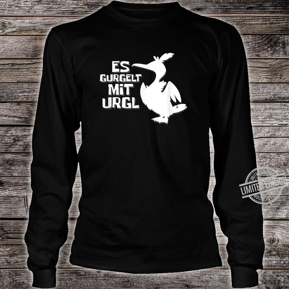 Es gurgelt mit Urgl gaming for gamers lustige Möwe Shirt long sleeved