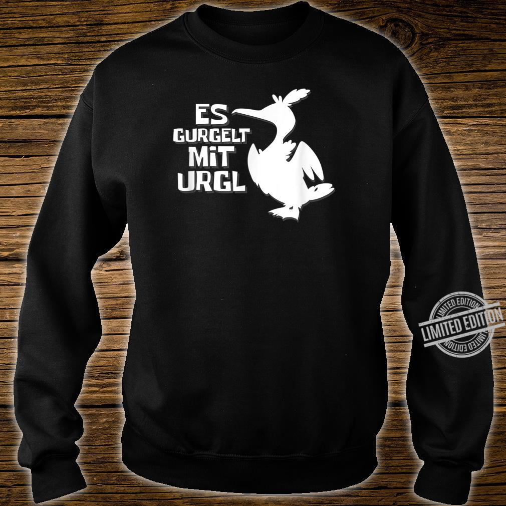 Es gurgelt mit Urgl gaming for gamers lustige Möwe Shirt sweater