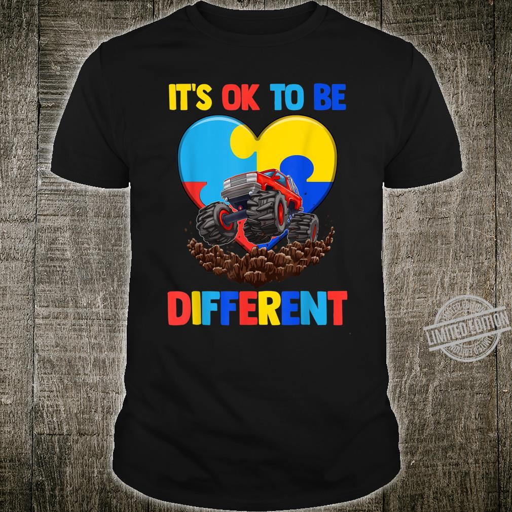 Es ist in Ordnung, anders zu sein Shirt Autism Awareness Shirt