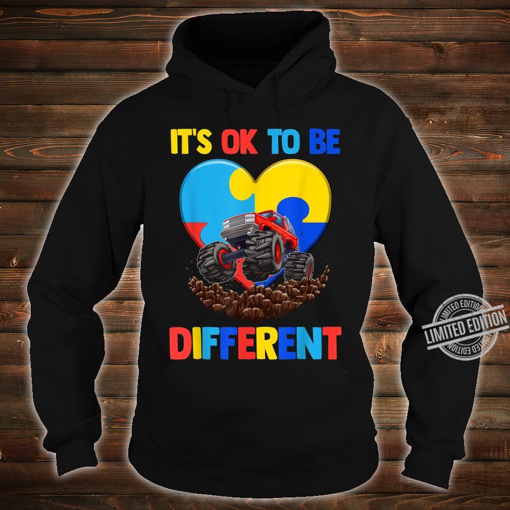 Es ist in Ordnung, anders zu sein Shirt Autism Awareness Shirt hoodie