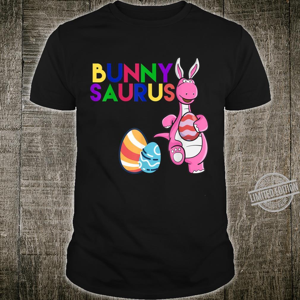 Funny Bunny Saurus Dinosaur Easter Egg Shirt Shirt