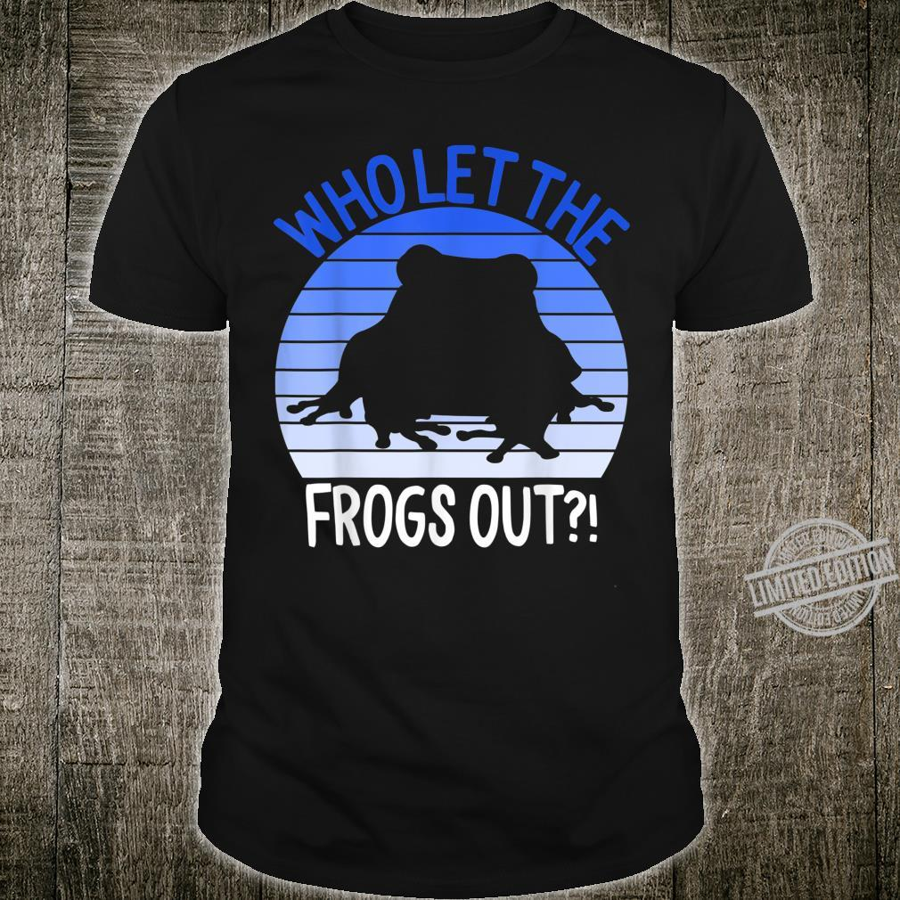 Funny Frog Plague Pesach Passover Jewish Jew Holiday Shirt