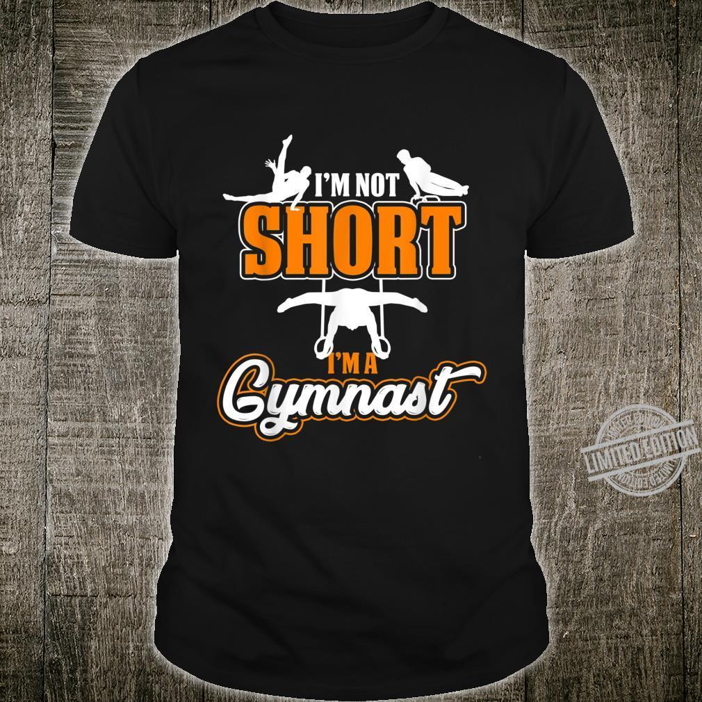 Funny Gymnast Idea Athlete Sport Gymnastics Shirt