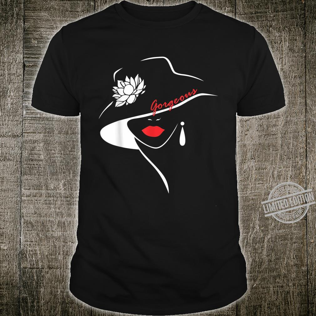 Girl Sweet Lip Red Lipstick Shirt