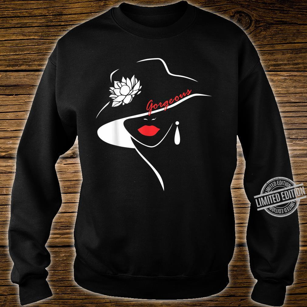 Girl Sweet Lip Red Lipstick Shirt sweater