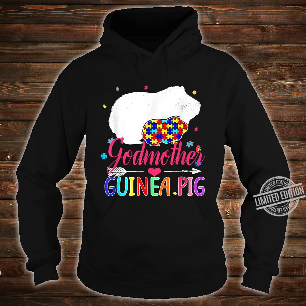 Godmother Guinea Pig Autism Awareness Shirt Love Support Shirt hoodie
