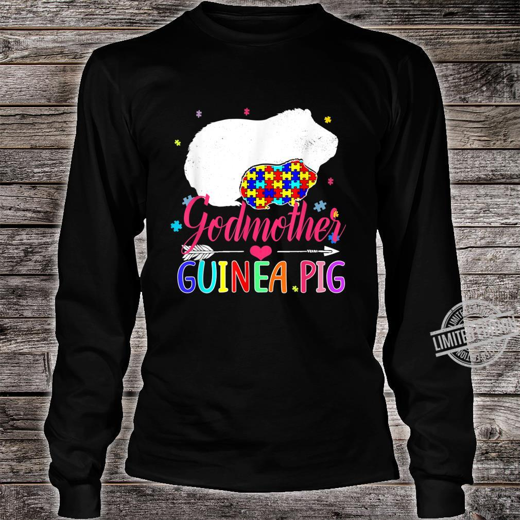 Godmother Guinea Pig Autism Awareness Shirt Love Support Shirt long sleeved