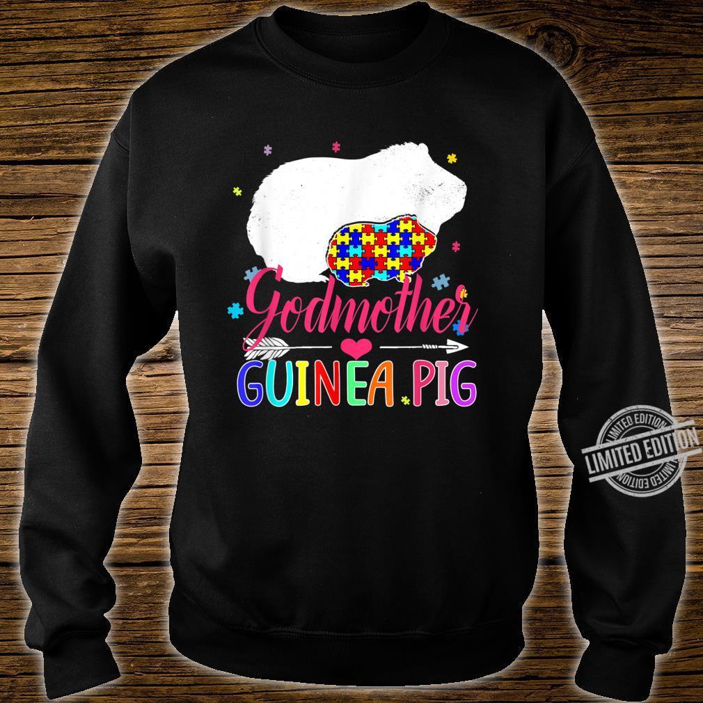Godmother Guinea Pig Autism Awareness Shirt Love Support Shirt sweater