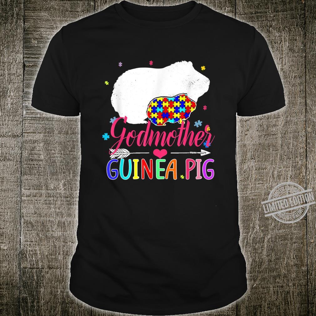 Godmother Guinea Pig Autism Awareness Shirt Love Support Shirt