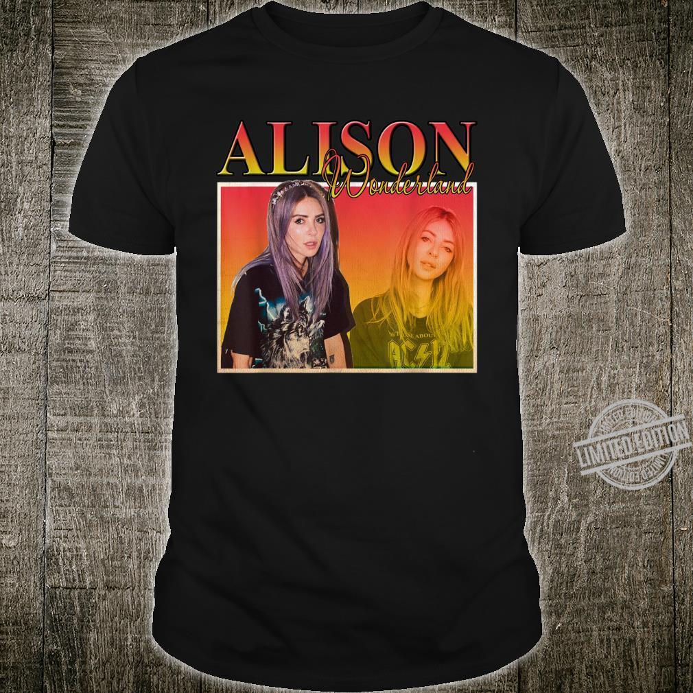 Graphic Alison shirt Wonderland Music DJ Shirt