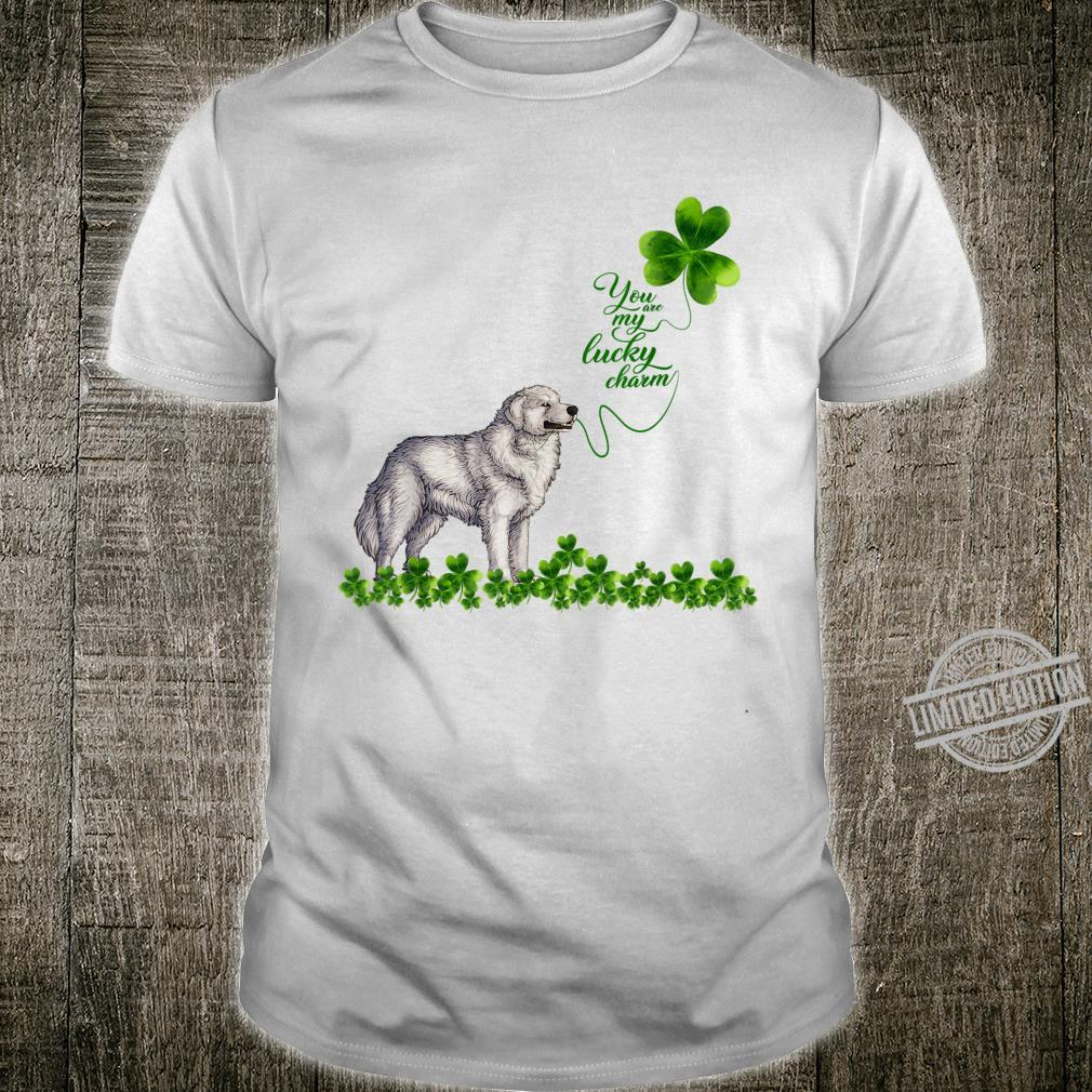 Great Pyrenees You Are My Lucky Charm Paddys Day Shirt