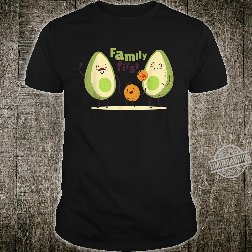 Guac Pun Avocado Parody Family First Shirt