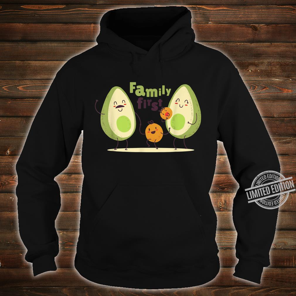 Guac Pun Avocado Parody Family First Shirt hoodie